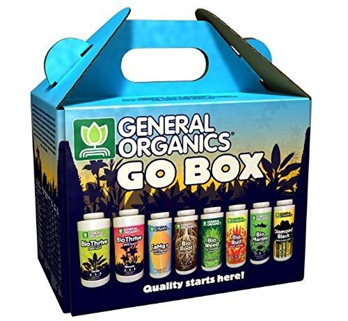 General Hydroponics GH5100 General Organics Go Box GH