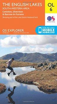 OS Explorer OL6 The English Lakes - South Western area (OS Explorer Map)