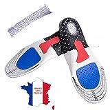 KWIM'S France Semelles ORTHOPÉDIQUE, Semelle Gel Sport - Semelle Chaussure...