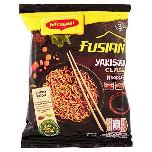 MAGGI FUSIAN Yakisoba Noodles Classic, Fideos Orientales, 12