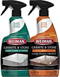 Weiman Granite Cleaner - 24 Ounce - for Granite Marble Soapstone Quartz Quartzite Slate Limestone Corian Laminate Tile Countertop and More