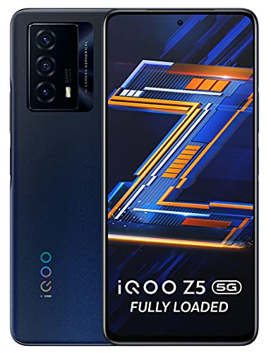 iQOO Z5 5G (Mystic Space, 8GB RAM, 128GB Storage)   Snapdragon 778G 5G Processor   5000mAh Battery   44W FlashCharge   Rs.1500 Coupon Discount