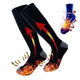 Chaussettes chauffante électriques pour pieds toujours froids