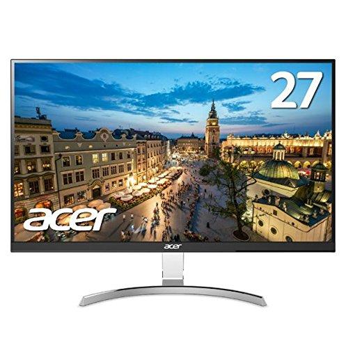 Acer モニター ディスプレイ RC271Usmidpx (27インチ IPS 非光沢 QHD DVI-D(Dual Link対応)・HDMI・Display...