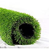 """ALTRUISTIC Artificial Grass 3FTX5FT(15 Square Feet), Realistic Fake Grass Deluxe Turf Synthetic Thick Lawn Pet Turf, 1 3/8"""" Height, Outdoor Decor, Customized"""