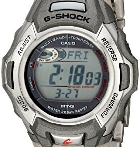 Casio Men's G-Shock MTGM900DA-8CR Tough Solar Atomic Stainless Steel Sport Watch 20