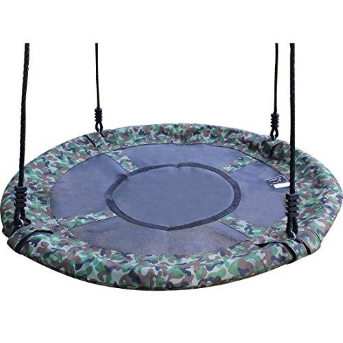 40-Camo-Disc-Nest-Rope-Hanging-Tree-Swing-Camping-Chair-Heavy-Duty-Easy-to-Set-up-Kids-Children-Adult-Outdoor-Indoor-Backyard-Garden