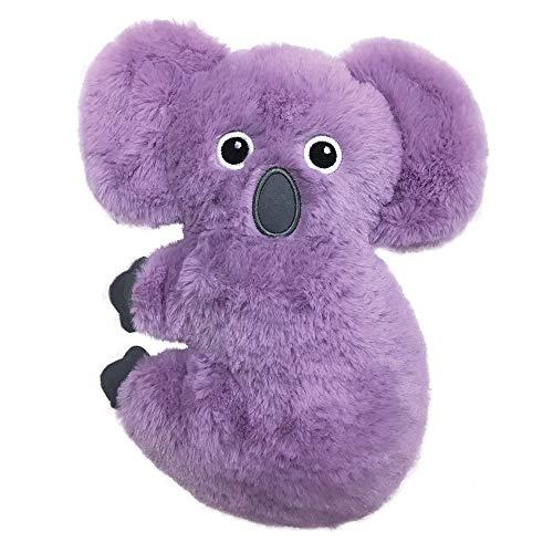 FouFou Dog 87023 Pastel Pals Fuzzy Tuffies Toy Small - Juguete para Perros Koala