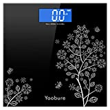 Weight Scale, Precision Digital Body Bathroom Scale with Step-On Technology, 6mm Tempered Glass Easy...
