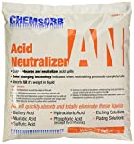CHEMSORB an - Acid Neutralizing Absorbent, 1 Gal. Bag, SP60AN-L1B, Fast-Acting Acid Neutralizer Absorbent Spill Response, Safe Color Changing Technology, Silica Free Neutralizer, Laboratories, Yellow