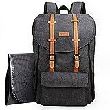 Sac à dos de voyage pour bébé, sac à langer grande capacité avec sac à langer/sangles pour poussette/poches isolantes (EU5312DG)
