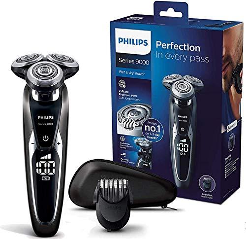 Philips S9721/41 Rasoir électrique Series 9000 100% étanche avec Trousse...