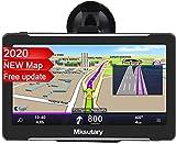 Mksutary 7' GPS Voiture Auto - Cartographie Europe 52 Pays Mise à Jour à Vie -...