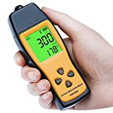 Portable Digital Carbon Monoxide Detector Meter, CO Gas Detector, Handheld Gas Leak Detector with Battery Powered, LCD Display CO Alarms Carbon Monoxide Tester 0~1000ppm for Home, Tunnels, Steel Works