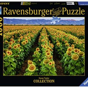 Ravensburger Campo de girasolesPuzzle 1000 Fotos & Paisajes, Puzzle para adultos