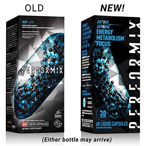Performix SST Extreme v2X Thermogenic Fat Burner, Weight Loss Supplement, Metabolism & Energy Booster, Mental Focus, 60 Count 7