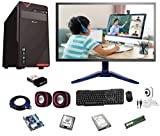 Rolltop® Assembled Desktop Computer,Intel Core 2 Duo 3.0 GHZ Processor,G 41 Motherboard, 18' LED Monitor,4 GB RAM,Windows 7 & Office Trial Version with Web Camera Mic Speaker 320 GB