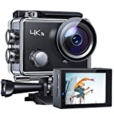 【US Stock 3-6 Days Delivery】 APEMANA77ActionCamera4KWiFiWeb Cam 16MP SportsCam30M WaterproofUnderwaterCamcorder with2.4GRemoteControl and 20AccessoriesKits