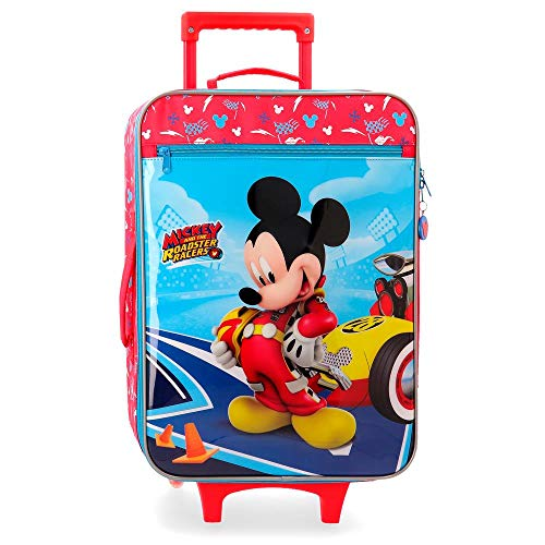 Disney Lets Roll Mickey Valigia per bambini 50 centimeters 28 Multicolore (Multicolor)