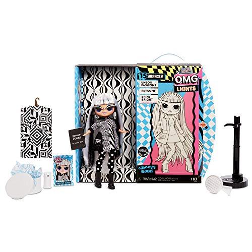 Image 4 - L.O.L. Surprise! Poupées mannequins à collectionner – Avec 15 surprises, vêtements et accessoires - Groovy Babe – Série O.M.G. Lights