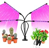 LED Grow Lights for Indoor Plants, JUEYINGBAILI 80W Full Spectrum Plant Lights with Auto ON/Off...