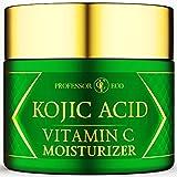 Kojic Acid + Vitamin C Superfood Skin Perfecting Treatment - Moisturizer For Women Men For Dark...