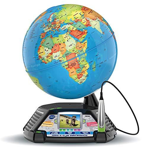VTech - Genius XL – Globe Vidéo interactif avec écran vidéo...