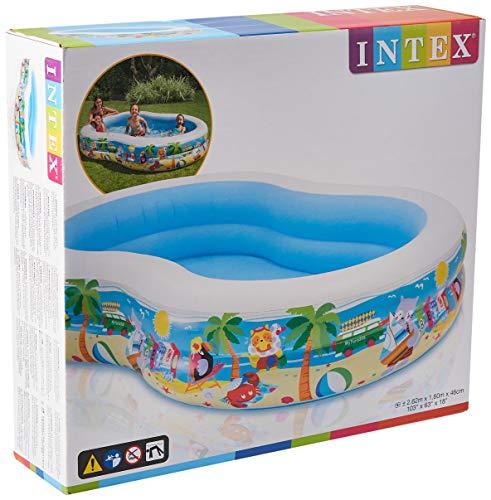 Intex 56490 - Piscina Paradise, 262 x 160 x 46 cm