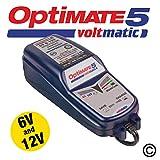 Optimate 5 - 6V et 12V Voltmatic Chargeur et CONTIONER