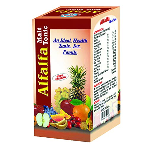 SCDHRL Alfalfa Malt with Ginseng- Health Tonic- For Loss of Weight- Poor Nutrition- Improves Digestion- 500 gm