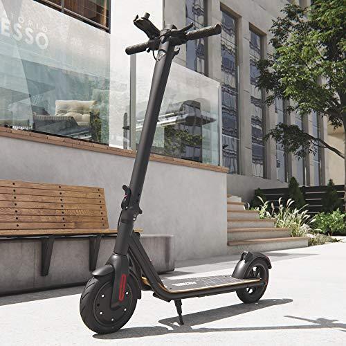 Viron Elektro Scooter 700 W Escooter mit APP & Bluetooth Roller Elektroroller Faltbar Aluminium E-Scooter (schwarz)