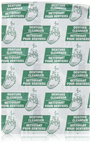 Equate Antibacterial Denture Cleanser (Pack of 2 Boxes 240 Tablets Total) Mint Fresh (Green Box)