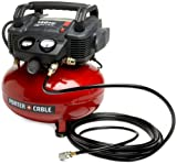 Porter-Cable C2002-WKR Oil-Free UMC Pancake Compressor with 13-Piece Accessory Kit (Renewed)