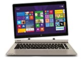 Toshiba P35W-B3226 Click 2 Pro 13.3' FHD Touch 2-In-1 Ultrabook Laptop Intel i7-4510U 8GB Memory 128GB Solid State Drive Satin Gold