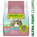 Four Paws Earth's Finest Cat Litter, Premium Clumping, Lightweight, Absorbent Formula 3.6 lbs