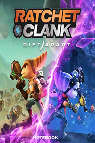 RATCHET CLANK RIFT APART NOTEBOOK: Scorecard, Scorecard for Scoring Your Games Ratchet Clank Rift Apart, 100 softcover pages for everything about the ... Apart you want to write result and remember …