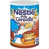Nestlé Bébé P'tite Céréale Chocolat Biscuité - Céréales déshydratées...