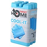 Target Homewares Reusable Freezer Blocks - Cools & Keeps Food Fresh - Use With Target Cool Box For Added Cooling (Pack of 3)