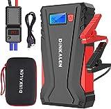 DINKALEN Booster Batterie 12800mAh 800A Portable Jump Starter (Jusqu'à 6.0L...