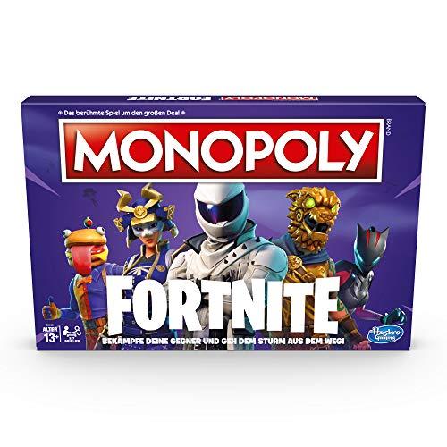 Monopoly Fortnite Edition, Brettspiel zu dem Fortnite Videospiel, ab 13 Jahren