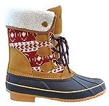 Khombu Irene Snow Boot,RED,9