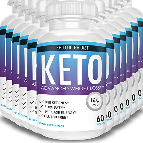 Keto Ultra Diet - Advanced Weight Loss - Ketosis Supplement (12 Month Supply) 1