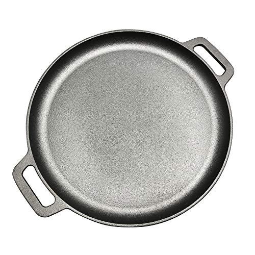 KIODS Padella 30 cm / 33 cm / 35 cm ghisa Bistecca Padella arrosto di Carne arrosto Tondo Tondo Non...
