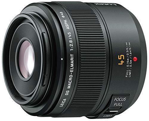 Panasonic マイクロフォーサーズ用 ライカ DG MACRO-ELMARIT 45mm F2.8 ASPH. MEGA O.I.S 単焦点 マクロレンズ H-ES045