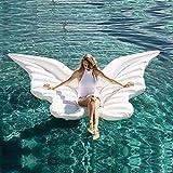 Lady of Luck Alas de Angel Flotador , Gigante Alas de Mariposa Inflable Fiesta en la Piscina Verano Playa Deporte Acuático Ociosas Juguete Adecuado para Adultos y Niños