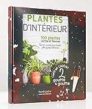 Plantes d'intérieur (coffret avec 2 goutte-à-goutte): 700 plantes vertes et fleuries