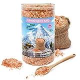 Nortembio Sal Rosa del Himalaya 1,5 Kg. Gruesa (2-5 mm). 100% Natural. Sin Refinar. Sin...