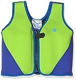 Splash About BJL1 Gilet de flottaison Enfant Vert Fluo et Bleu FR : S (Taille Fabricant : 1-3 ans)