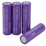 18650 Batterie Rechargeable Piles 18650 Batterie Li-ION 3.7V 35A Courant de...