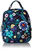 Vera Bradley Women's Signature Cotton Lunch Bunch Lunch Bag, Moonlight Garden, One Size